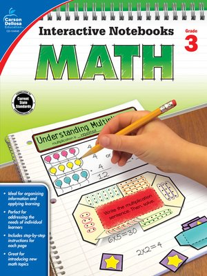 cover image of Math, Grade 3