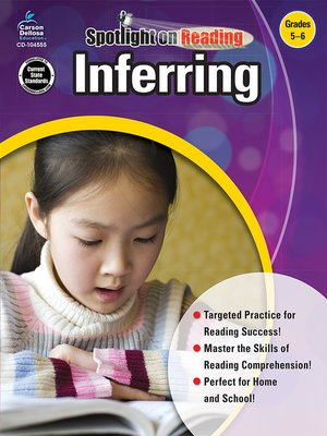 cover image of Inferring, Grades 5 - 6