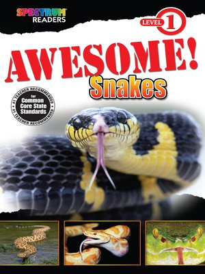 cover image of Awesome! Snakes