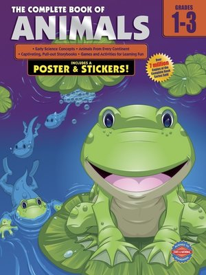 cover image of The Complete Book of Animals, Grades 1--3