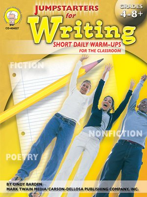 cover image of Jumpstarters for Writing
