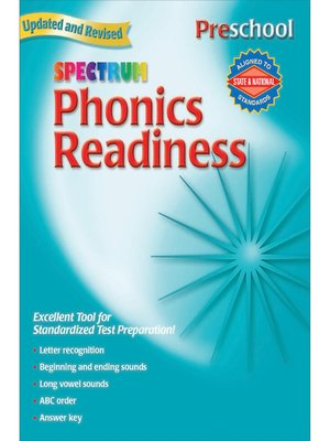 cover image of Phonics Readiness, Grade PK