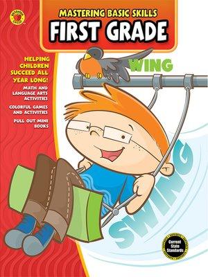 cover image of Mastering Basic Skills® First Grade Workbook