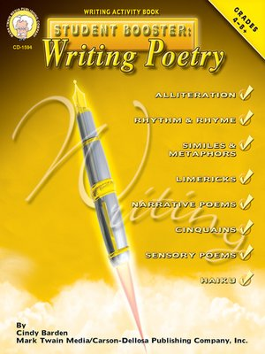 cover image of Writing Poetry, Grades 4 - 8
