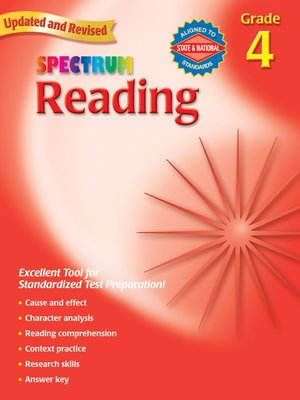 cover image of Reading, Grade 4