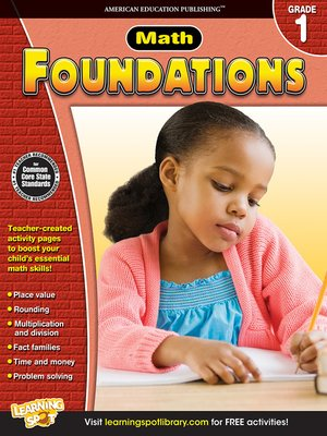 cover image of Math Foundations, Grade 1