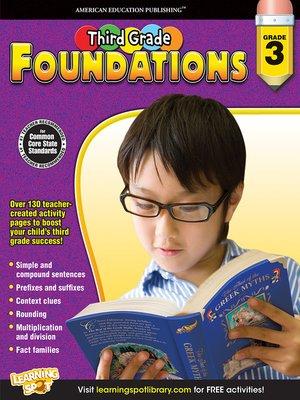 cover image of Third Grade Foundations, Grade 3