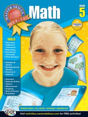 cover image of Math, Grade 5