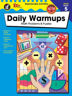 cover image of Daily Warmups, Grade 5