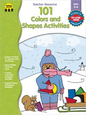 cover image of 101 Colors & Shapes Activities