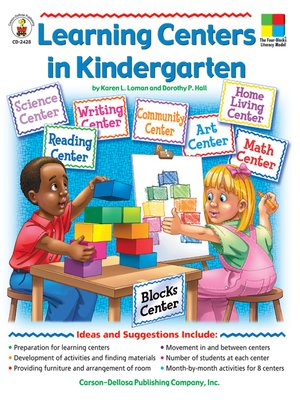 cover image of Learning Centers in Kindergarten