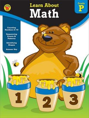cover image of Math, Grade PK