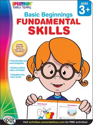 cover image of Fundamental Skills, Grades Preschool - K
