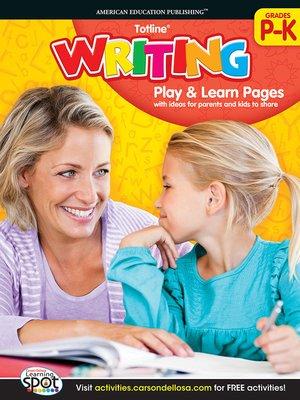 cover image of Writing, Grades PK - K