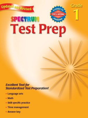 cover image of Test Prep, Grade 1