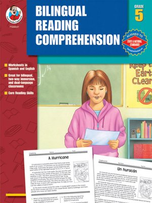 cover image of Bilingual Reading Comprehension, Grade 5