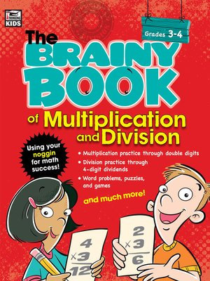 cover image of Brainy Book of Multiplication and Division