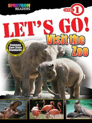 cover image of LET'S GO! Visit the Zoo