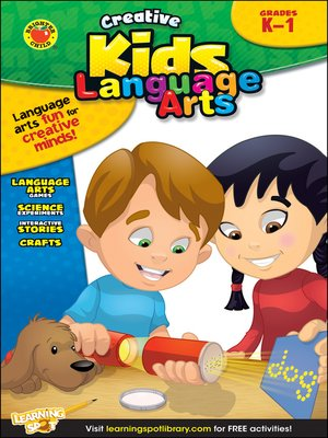 cover image of Language Arts, Grades K - 1