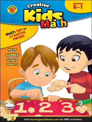 cover image of Math, Grades K - 1