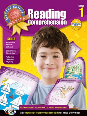 cover image of Reading Comprehension, Grade 1