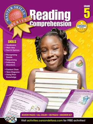 cover image of Reading Comprehension, Grade 5