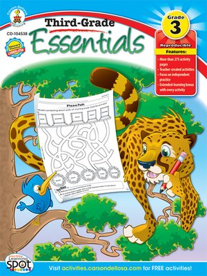 cover image of Third-Grade Essentials, Grade 3