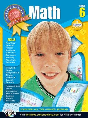 cover image of Math, Grade 6