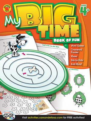 cover image of My Big Time Book of Fun, Grades PK - 1
