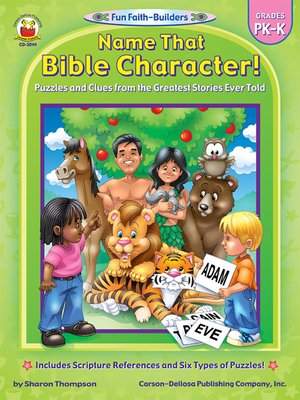 cover image of Name That Bible Character!, Grades PK--K