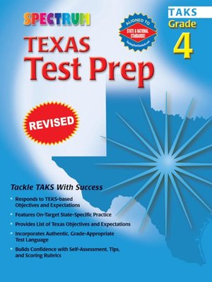 cover image of Texas Test Prep, Grade 4