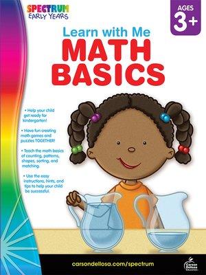 cover image of Math Basics, Grades Preschool - K