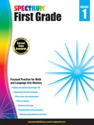 cover image of Spectrum Grade 1