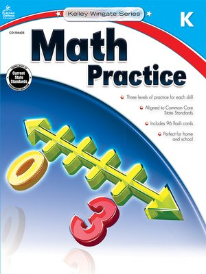 cover image of Math Practice, Grade K