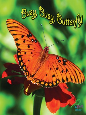 cover image of Busy, Busy Butterfly