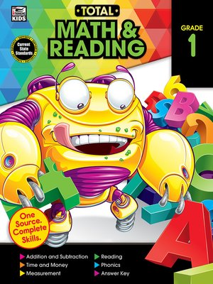 cover image of Total Math and Reading, Grade 1