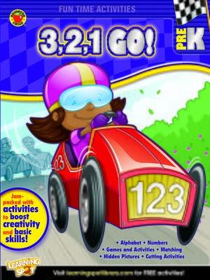 cover image of 3, 2, 1, Go!, Grade PK