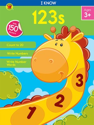 cover image of I Know 123s