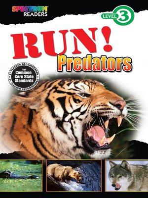 cover image of Run! Predators