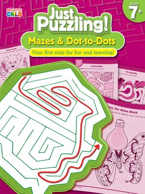 cover image of Mazes & Dot-to-Dots, Grades 2 - 5