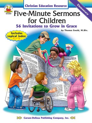 cover image of Five-Minute Sermons for Children, Grades K--5