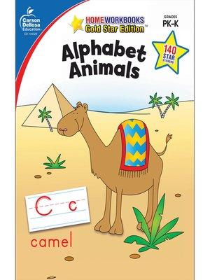 cover image of Alphabet Animals, Grades PK--K