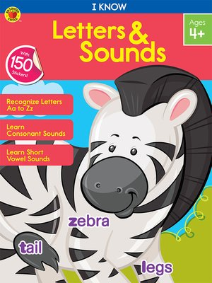 cover image of I Know Letters & Sounds