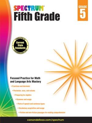 cover image of Spectrum Grade 5