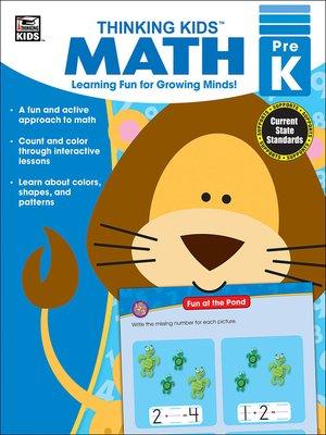 cover image of Thinking Kids' Math, Grade PK