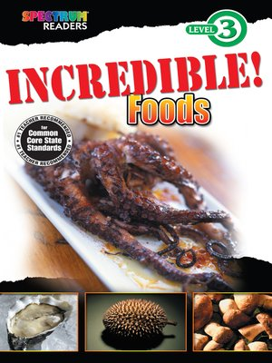 cover image of Incredible! Foods