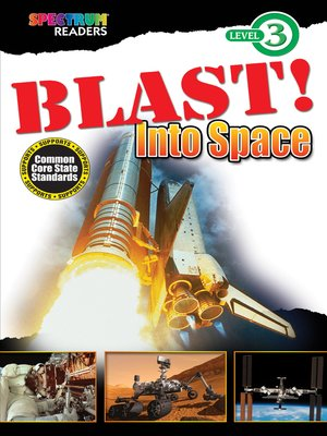 cover image of BLAST! Into Space