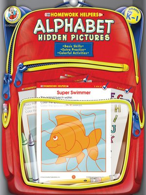 cover image of Alphabet Hidden Pictures, Grades PK--1