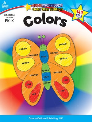 cover image of Colors, Grades PK--K