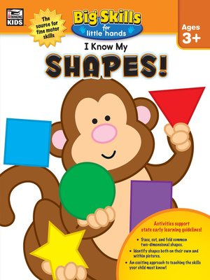 cover image of I Know My Shapes!, Ages 3--5